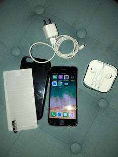 iPhone 6S 16GB Unlocked.  Will include charger, headset, tempered glass (one on it and one extra) and black case. Box not included.
