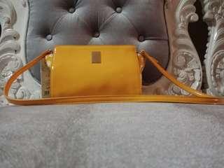 Korean Sling Bag Yellow Color