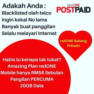 RedOne postpaid