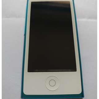 APPLE iPod Nano 7th Gen 16GB 無花 98%新, 有保護套.