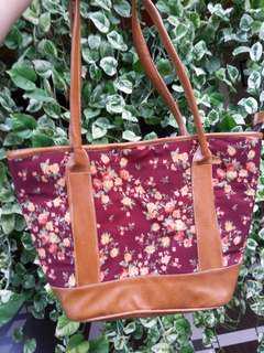 Tas Wanita (Handbag bunga-bunga)