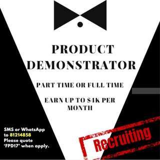 Product Demostrator