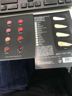 nars lipstick  and concealer sample