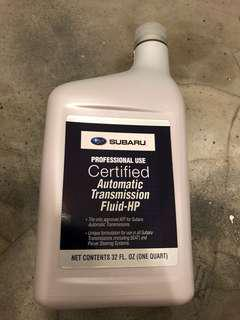 Genuine Subaru Oil