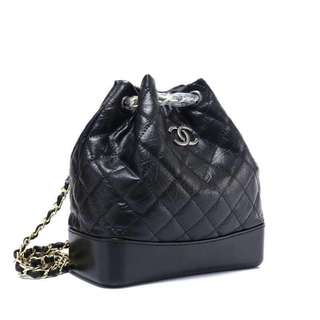 2 color chain backpack
