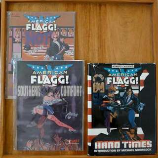 Howard Chaykin' American Flagg lot
