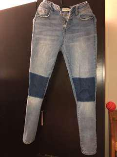 Pacsun Super High Rise Skinny Jeans 27