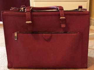 Briefcase type bag