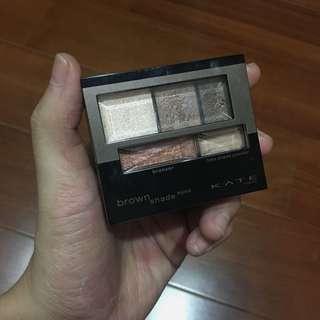🚚 KATE 3D棕影立體眼影盒#美妝88