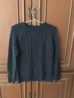 Knitwear blue navy