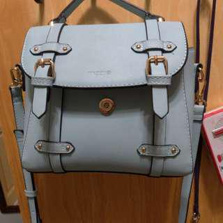 Mini bag( grey blue)