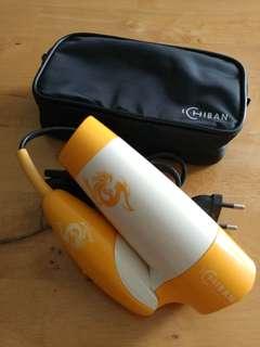 Portable travel hair dryer