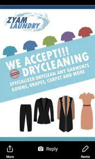 Accept Dry Cleaning