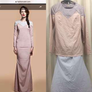 Nurita Harith Camille Baju Kurung