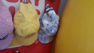 Gant and nautica hats
