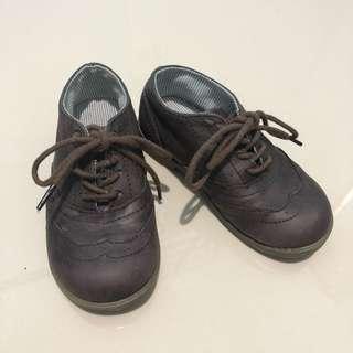 Mothercare shoes children kids sepatu kulit pvc anak laki 2 tahun size 8 25,5