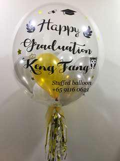 Graduation balloon, customized balloon