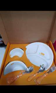 RARE Corelle Children 6pc set Cupcakes