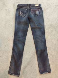 Levi's ladies Jeans (Leather pockets / front and back)
