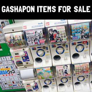 Gashapon Items For Sale
