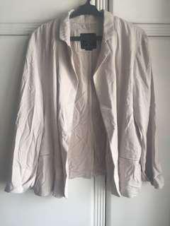 Beige Cotton On Blazer