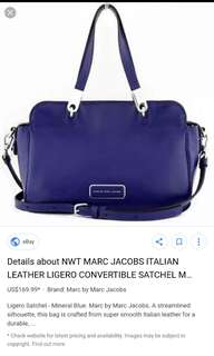 Authentic Marc by Marc Jacobs Ligero Convertible Satchel