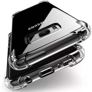 Premium Clear Soft Silicon Armor Case for Samsung