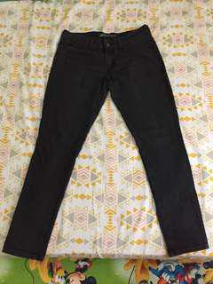 celana jeans levi's demi curve size 30 black