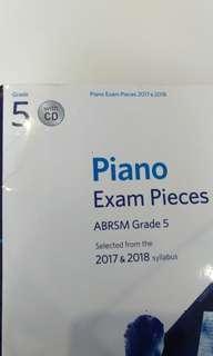 G5 piano exam pieces 🎶