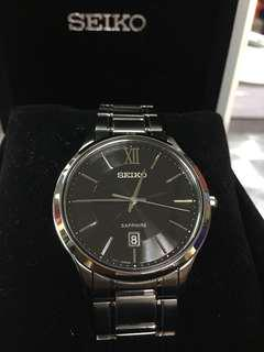 Seiko SGEH53P1 Sapphire Crystal Men's Watch