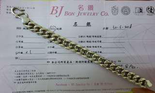 【快閃價】男裝8吋長 925純銀 粗手鍊(有單)