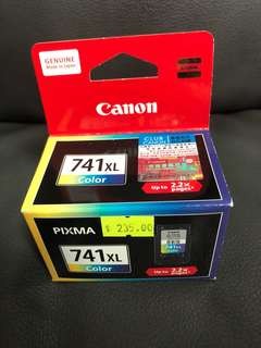 原裝正版Canon Inkjet Cartridge - Color