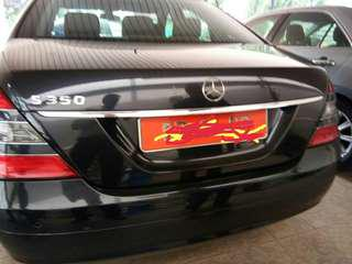 Mers s350 year 2009 ambassy car for sales