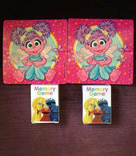 Sesame Street Abby puzzle