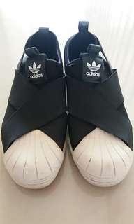 Authentic Adidas Superstar Slip On B/W
