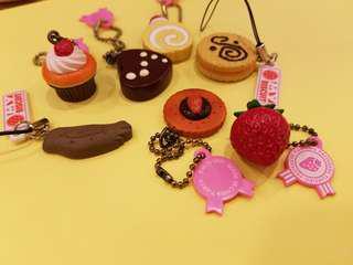 甜品扭蛋 一套7件(包郵)