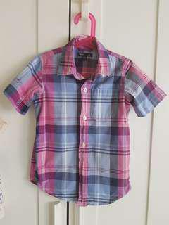 美國品牌GAP男童短袖襯衫