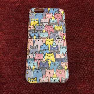 Casing iphone 6 (cat print)