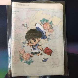 wts bts jimin passport cover