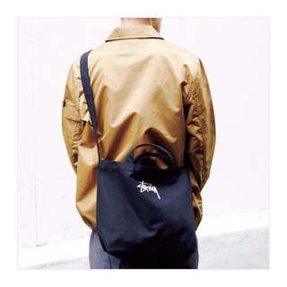 🚚 FUN 日雜~黑色帆布包 手提購物袋 側背包