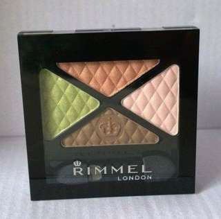 Rimmel Glam Eyes Quad Eyeshadow (016 URBAN FLOWER)