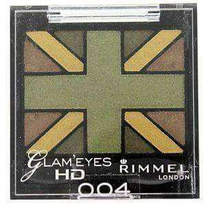 Rimmel Glam Eyes HD Quad Eyeshadow (004 GREEN PARK)