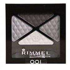 Rimmel Glam Eyes Quad Eyeshadow (001 SMOKEY NOIR)