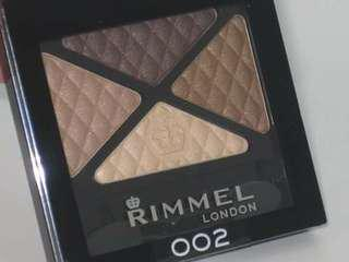 Rimmel Glam Eyes Quad Eyeshadow (002 SMOKEY BRUN)