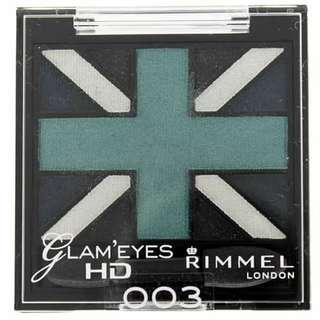 Rimmel Glam Eyes HD Quad Eyeshadow (003 ROYAL BLUE)