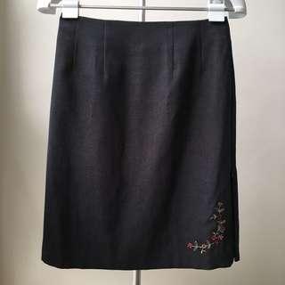 Pencil Skirt w/ Side Slit