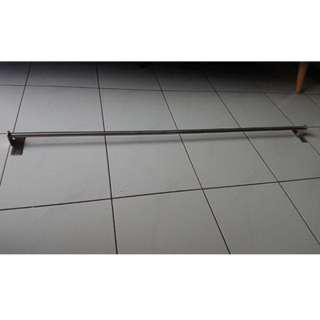 Ikea KUNGSFORS Rail stainless steel 120 cm