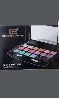 DB DESIGNER BRANDS 18 COLOUR EYE SHADOW PALETTE: MAKE-UP