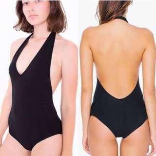 American apparel black bodysuit