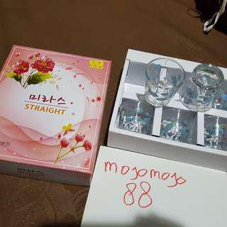 Gelas Shot / Sloki Korea Untuk Soju